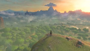When the world shrinks, we can explore: a view from 'The Legend of Zelda: Breath of the Wild.' (Image courtesy of Nintendo.)