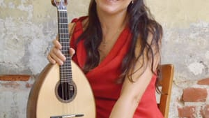 One of the world's most accomplished mandolinists: Caterina Lichtenberg. (Photo by Maria Camillo.)