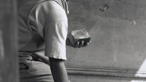 Life's 1948 portrait by Gordon Parks, 'Gang Member with Brick, Harlem, New York.' (Courtesy of Princeton University Art Museum. ©The Gordon Parks Foundation.)