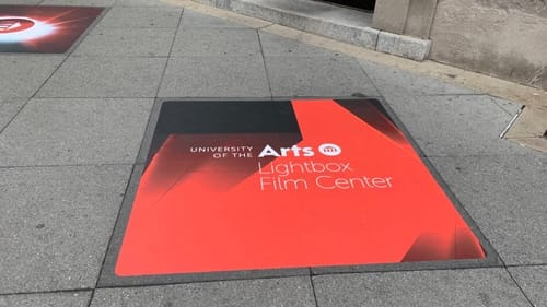 Point your feet on Broad Street: the new Lightbox is here. (Photo by Stephen Silver.)