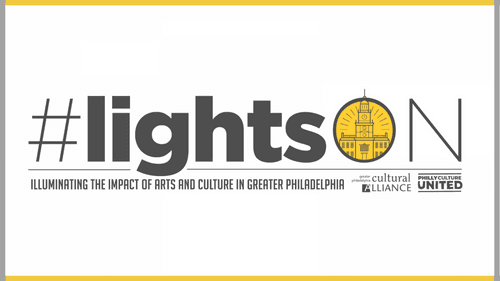Time to turn on the lights that show how important Philly's cultural scene is to our city's survival. (Image courtesy of the Philadelphia Cultural Alliance.)