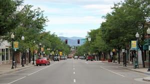 Littleton, Colorado's idyllic Main Street. (Photo via Creative Commons/Wikipedia.)