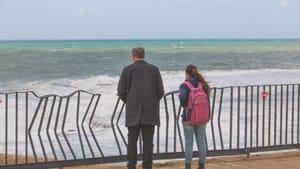 Shai Avivi's Ariel tries to uncover clues to his lost son's life. (Photo via imdb.com.)