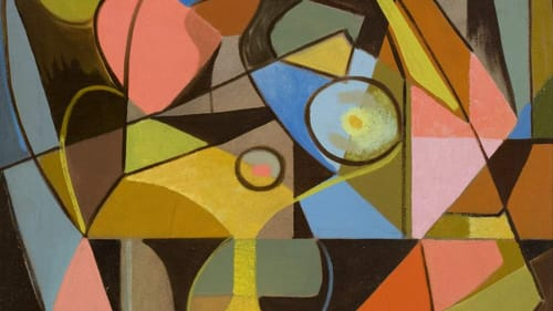 A bolder, more progressive vision: Louis K. Stone's 'Abstraction.' (Image courtesy of the Michener.)