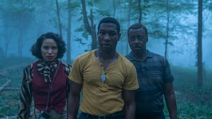 Jurnee Smollet, Jonathan Majors, and Courtney B. Vance stand front and center in HBO's new series. (Photo courtesy of HBO.)