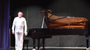 Untrammeled joy in music: Mac McClure at the Academy of Vocal Arts. (Photo by Margaret Darby.)