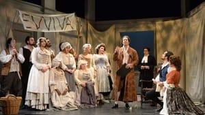 The backbone of the standard repertory: the ensemble of AVA's 'Le Nozze de Figaro.' (Photo courtesy of AVA.)