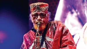 "Marshall Allen, a living ""jazz deity."" (Image courtesy of sunraarkestra.com.)"