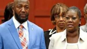 Tracy Martin (left) and Sybrina Fulton: Righteous indignation got in the way.