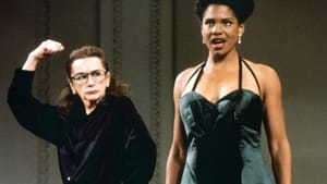 """""""What we do matters."""" Zoe Caldwell and Audra McDonald in the premiere of McNally's 'Master Class.' (Image courtesy of Floating World Pictures.)"""