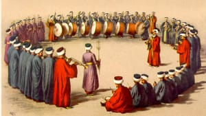 Ottoman military band, c. 16th century: Would you rather fight these guys or join them?