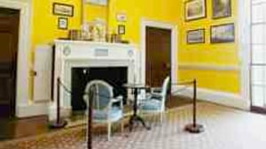 Jefferson's dining room: A matter of 'reinterpretation.'