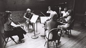A parade of musical characters: a practice session of the Brahms Clarinet Quintet at the conference in 1980. (Photo by Alice Berman.)