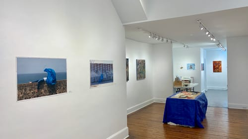 Art as a natural starting point: 'Nor Wind Nor Water' at DVAA. (Image courtesy of Bryant Girsch, DVAA.)