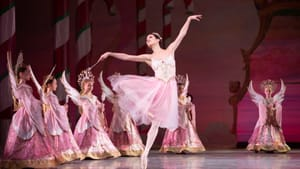 It's not just about the holiday tradition: the Pennsylvania Ballet's Lillian DiPiazza in the 2019 'Nutcracker.' (Photo by Alexander Iziliaev.)