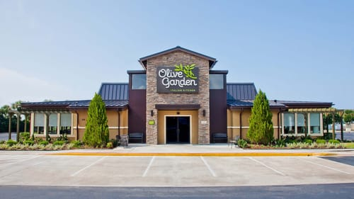 Not my parents' kind of restaurant. (Photo courtesy of Olive Garden.)