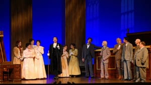 Love and consequences: The ensemble of 'Trial by Jury.' (Photo courtesy of OperaDelaware.)