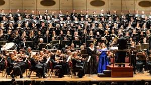 Verdi's 'Requiem' gave the Opera Philadelphia musicians pride of place alongside the singers. (Image courtesy of Opera Philadelphia.)