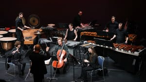 Echoes of jazz, Bartók, and Stravinsky: Gabriela Ortiz's 2012 'Ríos: Papaloapan' performed at Teatro Esperanza. (Photo by Zamani Feelings.)