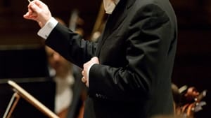 Conductor Bramwell Tovey offered a hilarious take on Tchaikovsky. (Photo by David Cooper.)