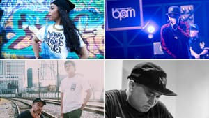 The showcase celebrates contributions by Asian American hip hop artists. (Image provided by PAAFF)