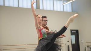 When will the PA Ballet rehearse outside the States? Principal dancer Oksana Maslova and artistic director Angel Corella in 2018. (Photo by Arian Molina Soca.)