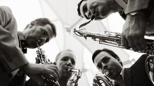 PRISM Quartet. (Photo by Jacqueline Hanna.)