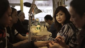 Salon owner Van Hoang. (Photo courtesy of the Philadelphia Asian American Film Festival)