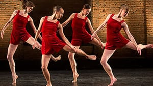 A compelling voice in contemporary choreography: Pam Tanowitz Dance had its Philly debut. (Photo by Christopher Duggan.)