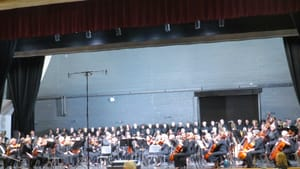 South Jersey's largest volunteer orchestra offered professional-grade Mahler. (Photo by Linda Holt.)
