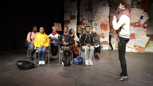 'Philly Education Stories' sought collective answers to systemic isolationism in our education system. (Photo by M. Asli Dukan.)