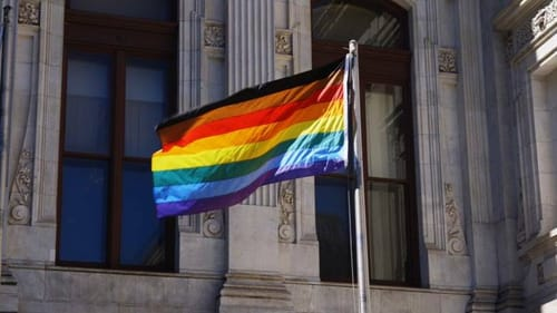 Objections to the new Philly Pride Flag missed the intersectional point. (Photo courtesy of the Philadelphia Office of LGBT Affairs.)
