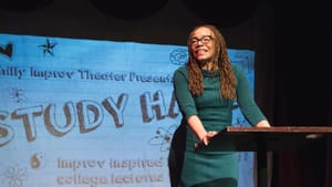 Get your laugh on with 'Study Hall,' now in session online. (Photo by Sam Abrams.)