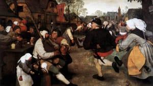 """Pieter Bruegel the Elder, """"The Peasant Dance"""""""