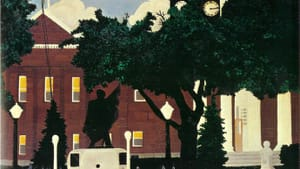 The West Chester Courthouse, the way Horace Pippin saw it.