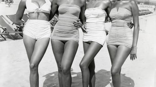 'Atlantic City, Four Women,' a gelatin silver print (c. 1960s) by John W. Mosely. (Courtesy of the Charles L. Blockson Afro-American Collection of Temple University.)