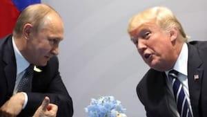 Putin and Trump: Brothers beneath the skin. (Photo via Creative Commons/Wikimedia.)