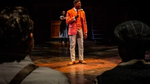 The pride and power of Coalhouse Walker Jr.: Nkrumah Gatling in 'Ragtime' at the Arden. (Photo by Wide Eyed Studios.)
