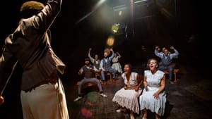 An intimate yet one-dimensional staging: the ensemble of 'Ragtime' at the Arden. (Photo by Wide Eyed Studios.)