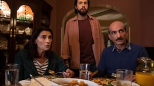 Funny but stressful narratives of an Egyptian American family: Hiam Abbass, Ramy Youssef, and Amr Waked in 'Ramy.' (Image courtesy of Hulu.)