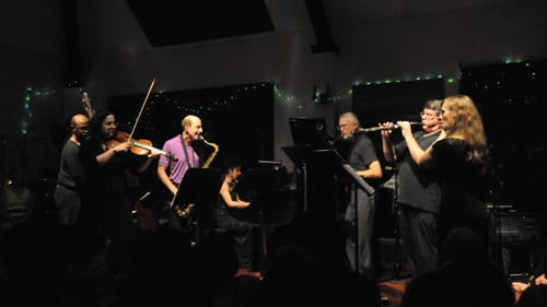 The Relâche New Music Ensemble celebrates its 40th anniversary in June 2018. (Photo courtesy of Relâche.)