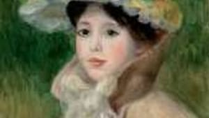 Please! Not another saccharine Renoir! (Above: 'Girl With a Yellow Cape,' 1901.)