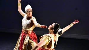 A delight each time on stage: Madhusmita Bora and Prerona Bhuyan of Sattriya Dance Company. (Photo by Tonmoy Bhagawati.)