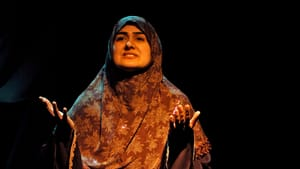 """Rohina Malik performs """"Unveiled."""" (photo by Sadaf Syed)"""