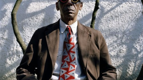 Ripping the very air to pieces: Roscoe Mitchell. (Image courtesy of the artist.)