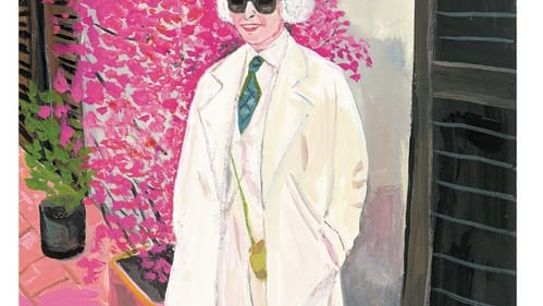 Ever since one inspired Friday, Sara Berman wore all white. (Illustration by Maira Kalman for 'Sara Berman's Closet.' Image courtesy of Harper Collins.)