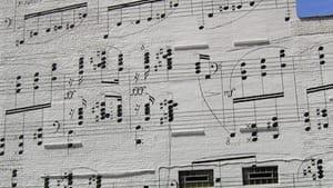 Hitting a brick wall: The Schmitt Musical Mural in Minneapolis, Minnesota. (Photo by Bosc D'Anjou, via Creative Commons/Flickr.)