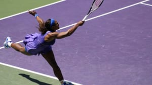 Serena Williams in 2012. (photo by Charlie Cowins via Creative Commons/Flickr)