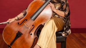 Sharon Robinson's cello stood out during the performance of Brahms's 'First Sextet'. (Photo by Christian Steiner.)