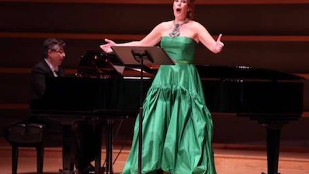 """Sondra Radvanovsky delivers with """"passion and playfulness."""" (Photo by Dominic M. Mercier.)"""